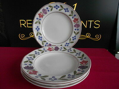 """4 x Adams Old Colonial Salad Plates 8.25"""" Last Set Available"""