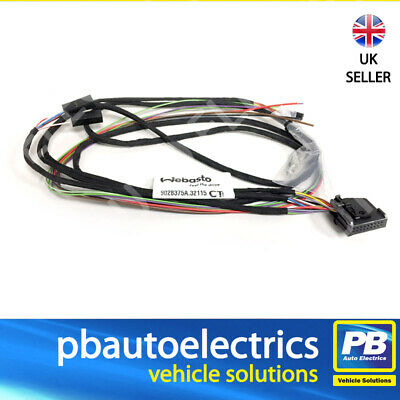 use with 2000 ST /& EVO 3900 5000 Webasto Air Top Unibox controller Wiring harness 9031714A