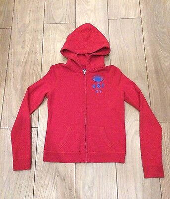 Girls Red Size XL Abercrombie & Fitch Hoodie