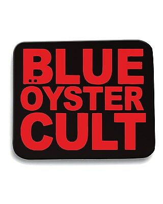 Tappetino Mouse Pad FUN0824 blue oyster cult 004 band vinyl decal stickers  6442