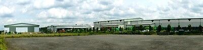 Backdrop INDUSTRIAL AREA 38cm x 3m long Background Photo HO N ANY Scale ID210A