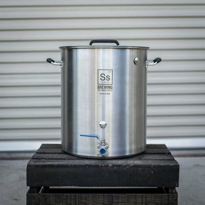 Ss Brewing Technologies Stainless Steel Brew Kettle 10, 15, 20, 30 Gallon