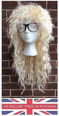Garth Algar Wig Glasses Outfit Costume Fancy Dress Waynes Wayne's World Film TV