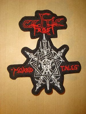 CELTIC FROST - MORBID TALES LOGO Embroidered PATCH