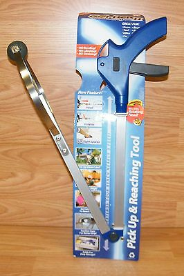 Deluxe Gopher 2 (Gopher II) Foldable Pick-Up & Reaching Tool 3-Foot Reach *NEW*