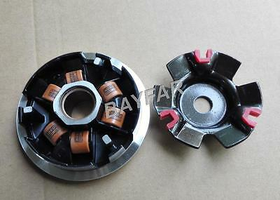 Performance Racing Variator Set w/14g rollers for Scooter ATV GY6 125 150 157QMJ