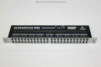 Behringer Ultrapatch Pro PX3000, multi-functional 48-point balanced Patchbay