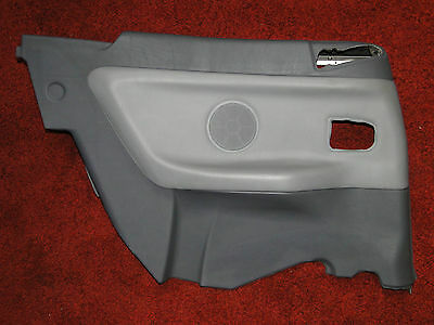 Quality Bmw E36 Convertible Rear Left Lateral Trim Panel Door Card Grey Leather
