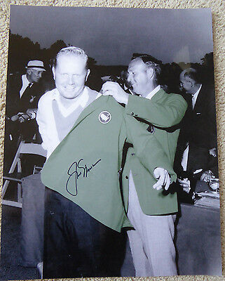 Jack Nicklaus Authentic Signed 11x14 PGA Golf Photo Autographed, Masters