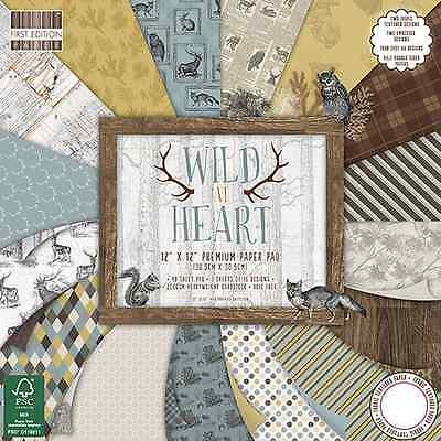 First Edition 12 X 12 Paper Pad - Wild At Heart