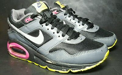 Nike Air Max Navigate Athletic Running Sneaker Shoes Girls Size 3.5 Youth Black