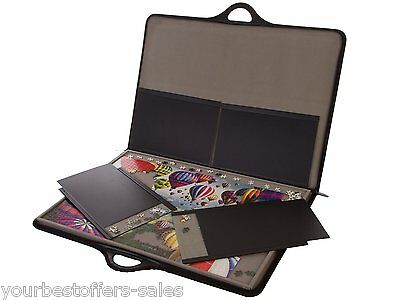 Jigsort Jigsaw Puzzle Case Portable Case Puzzle Carrier Puzzle Trays Brand New