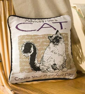 Wind & Weather® Cat Advice Pillow
