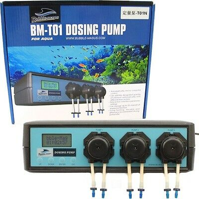 Bubble-magus BM-T01 Dosing pump. Brand New. UK Seller.