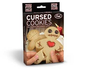CURSED COOKIES Vodoo Doll Cookie Cutters Halloween Fred and Friends