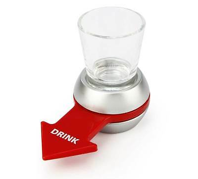 SPIN THE SHOT Alcohol Drinking Game Party Novelty by Barbuzzo