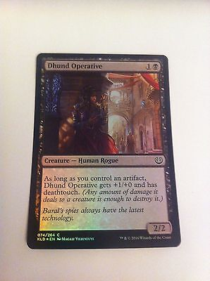 MTG Card - DHUND OPERATIVE - FOIL Rare Kaladesh - NEW