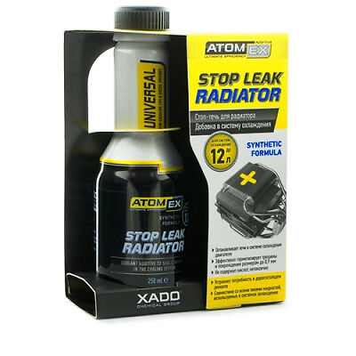 XADO Atomex Stop leak radiator COOLANT treatment seals cracks and minor damages