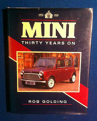 Mini 30 Years Book By Rob Golding In Good Condition