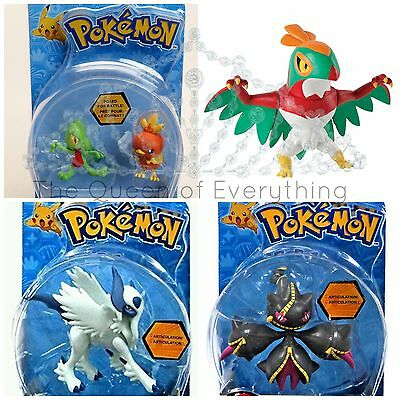 Pokemon Action Figures Articulating Posed to Fight 4 Character-- U Choose