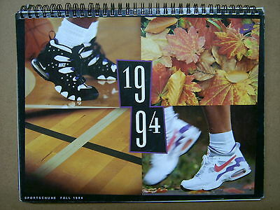 NIKE Katalog 1994 Schuhe Sneaker Herbst Fall German NIKE shoe Dealer catalog