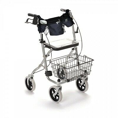 Wheelchair, Rollator & Walker Organiser Bag + Cup Holder - NEW!!
