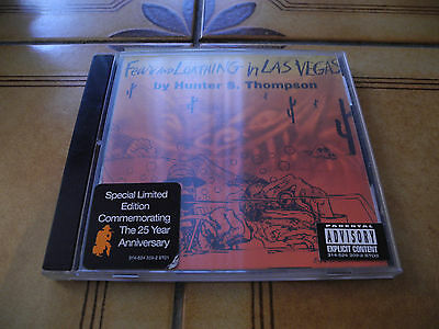 Fear And Loathing In Las Vegas - Cd Special Edition 25Th Anniverary