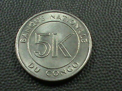 CONGO   5  Makuta    1967     UNCIRCULATED