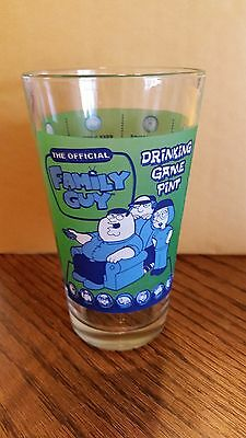 Family Guy Drinking Game Pint Glass