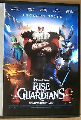 Rise of the Guardians Movie Poster 2012 USA One Sheet, Original