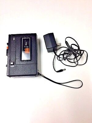 Vintage SEARS Solid State Cassette Recorder/Player #2172  Portable 1970s Japan
