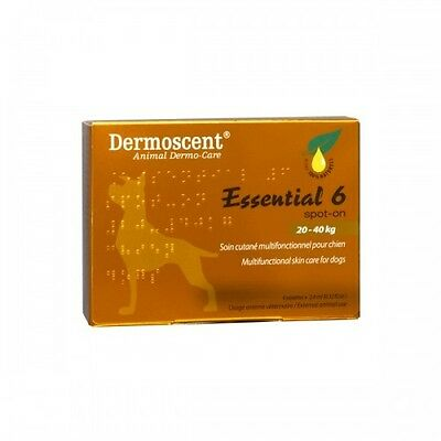 Dermoscent Essential 6 Spot-On -Skin Care for Large Dogs (20-40kg)