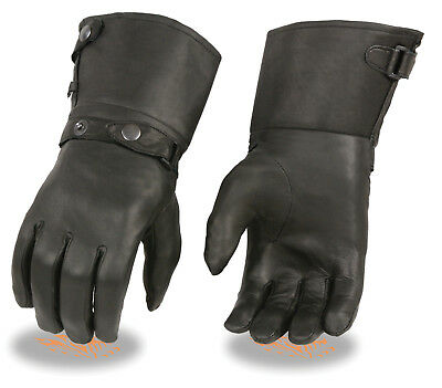 NEW Summer Vented  Leather Motorcycle Motorbike Gloves CowHide Leather MOLV
