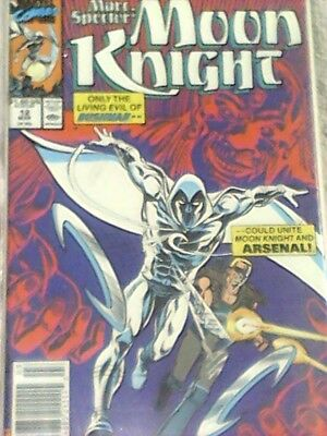 Marvel's Moon Knight #12 Comic Book