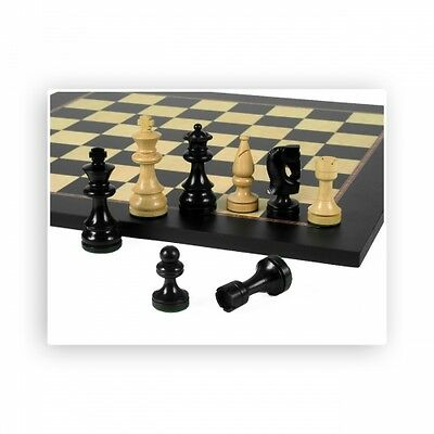 Chess figures - Russian Design - black - Kings height 89mm