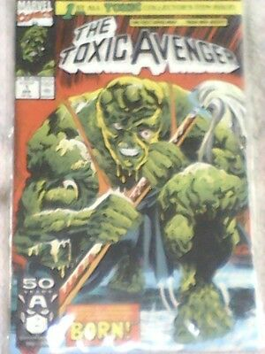 Marvel Comic's The Toxic Avenger # 1