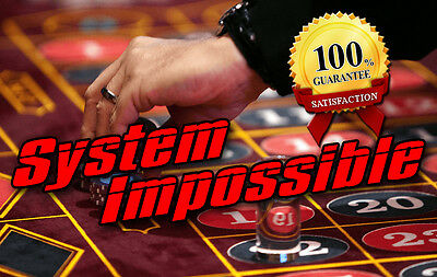 Roulette System Impossible - Win roulette EVERYTIME (100% WIN)
