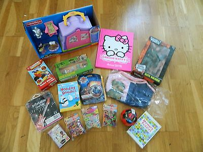 Reduced Job Lot Boys & Girls 15 Toys / Items  Disney Fisher Price  (Brand New)