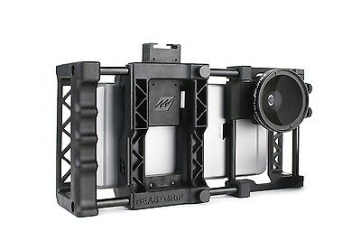 Beastgrip Pro + Wide Angle Lens - Bundle. Universal Smartphone Camera Rig.