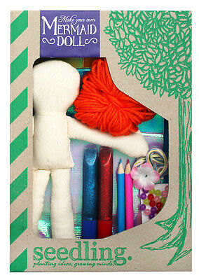 Seedling Design Your Mermaid Doll Kids Craft Activity Age 4+yrs