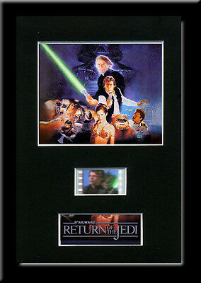 Star Wars Return of the Jedi Framed 35mm Mounted Film cells - Movie Cell