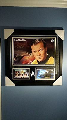 2016 Star Trek 50th Ltd. Ed. Canada Post William Shatner Signed Print #370/1100