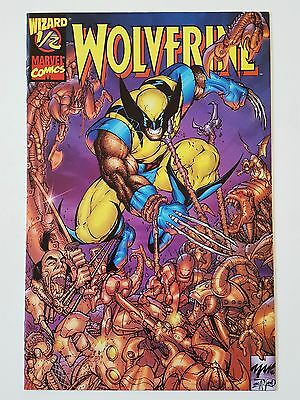 Wolverine #1/2 Wizard Mail Away Exclusive With Coa (Ah.)
