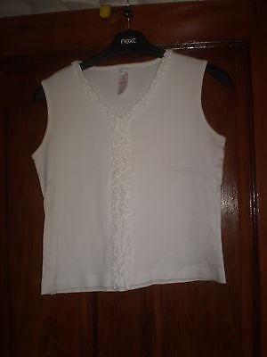 BHS white top Size 13-14 yrs
