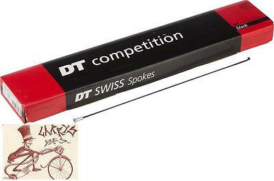 Dt Swiss Competition Race 2.0/1.6  272Mm Black Bicycle Spokes--Box Of 72