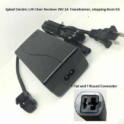 Syleaf 29V2A Switching Power Supply Transformer for Lift Chair or Power Recliner