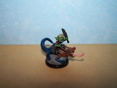 Goblin Warchief - We Be Goblins #7 Pathfinder Battles D&D Rare Mini