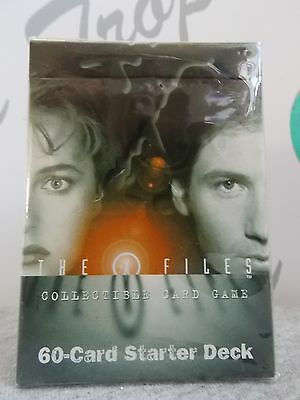 1996 X-Files 60 Card Starter Deck Collectible Card Game New In Sealed Pkg