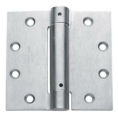 "Hager Commercial Spring Hinge 4.5"" x 4 1/2"" - Door Closer - US26D Satin Chrome"