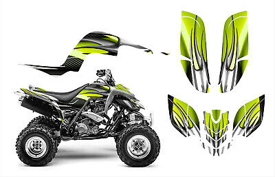 RAPTOR 660 660R GRAPHICS DECAL STICKER KIT #1300-Green Tribal